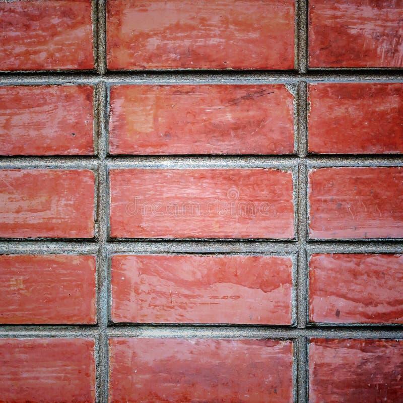 Bricks texture. Old red bricks texture, background, square frame stock photos
