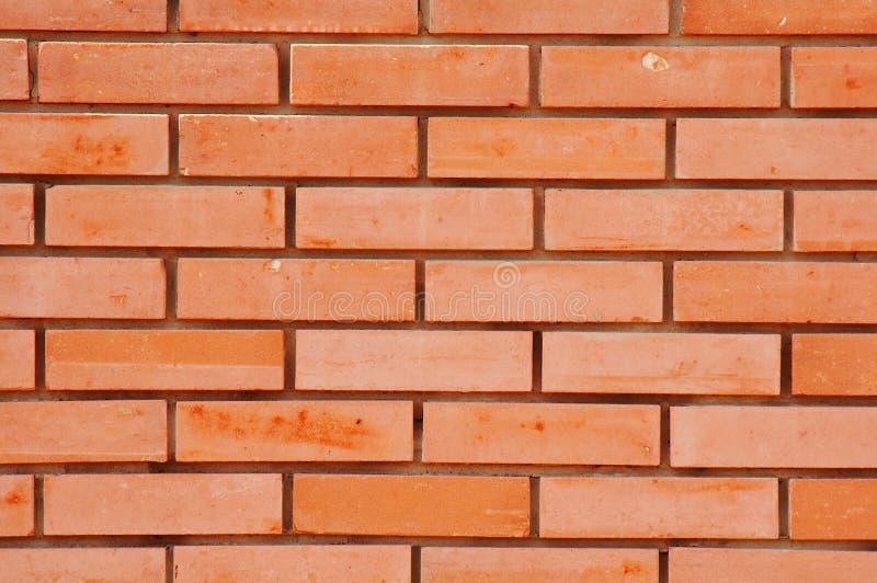 Bricks wall background. New bricks wall as a background royalty free stock photos
