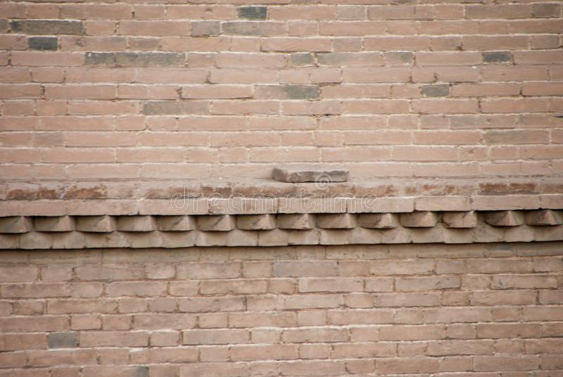The bricks on the wall inherit the clean, honest and beautiful things. stock photos