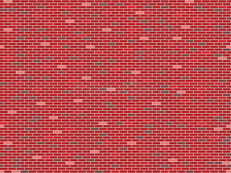 Bricks wall seamless texture stock image