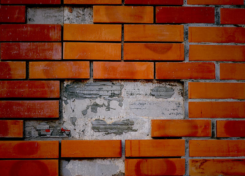 BricksWall backgrounds royalty free stock photography