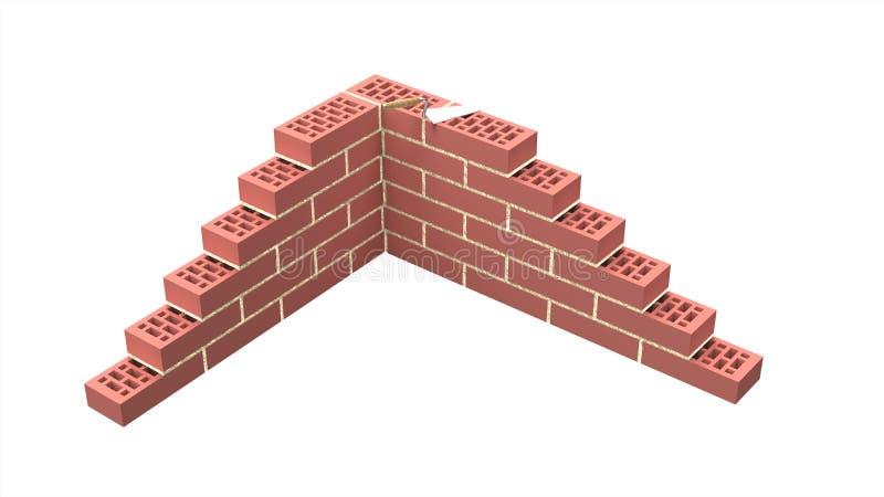 brickwall διανυσματική απεικόνιση