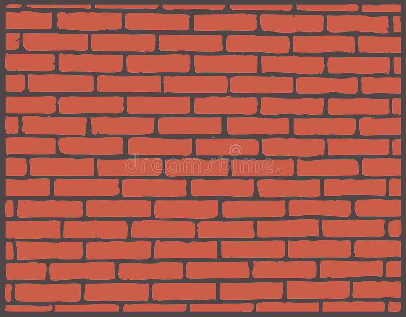 Brickwall ilustração do vetor