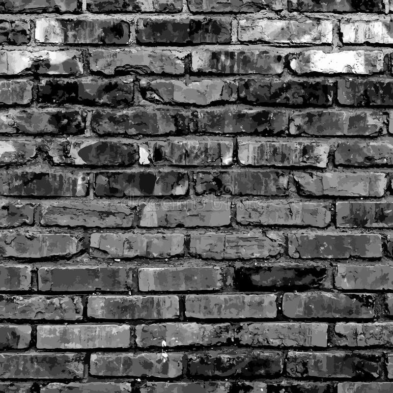 Brickwall2 illustrazione di stock
