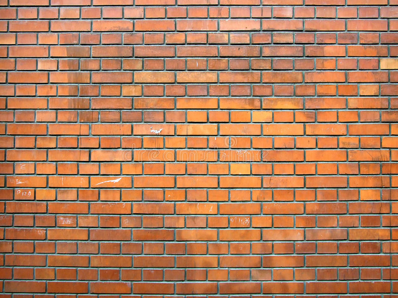 Brickwall stockfotos