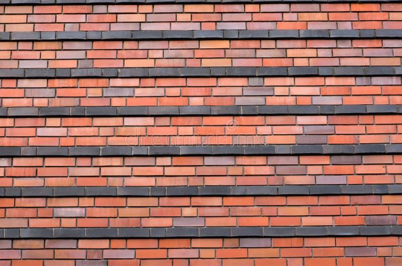 Brickwall rojo fotos de archivo