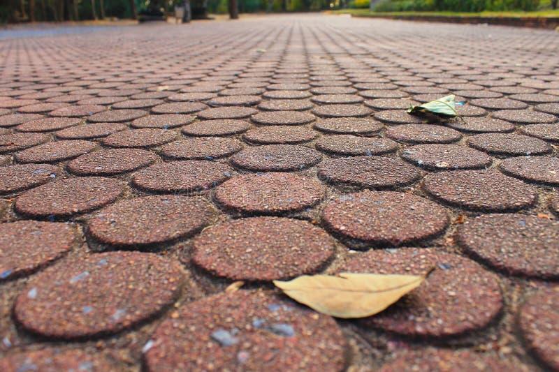 Brickway foto de archivo