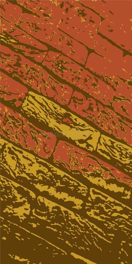 Brickwork. Brick wall. Vintage background for website, flyer. Vector illustration eps-10 stock photo