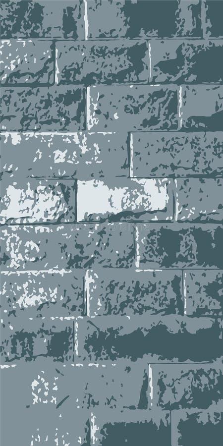 Brickwork. Brick wall. Vintage background for website, flyer. Vector illustration eps-10 royalty free stock image