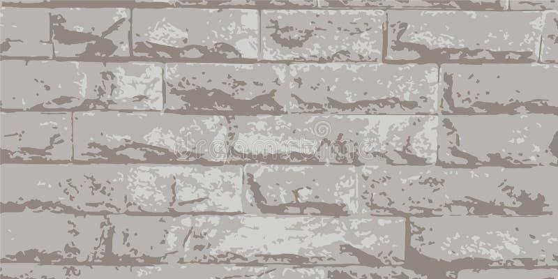 Brickwork. Brick wall. Vintage background for website, flyer. Vector illustration eps-10 royalty free stock photography