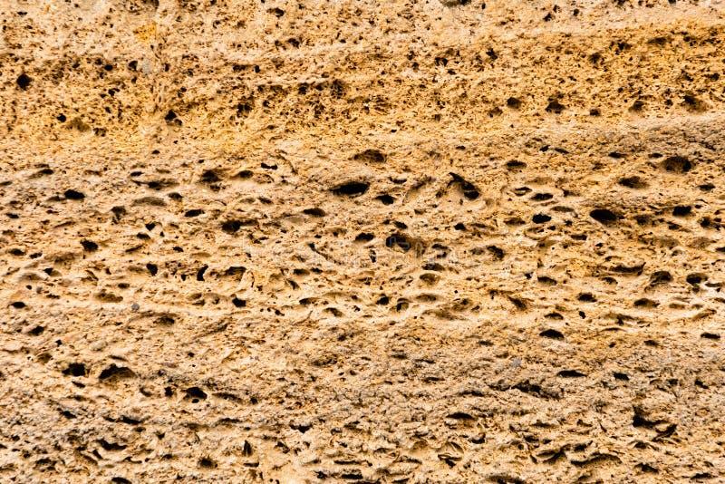 Brickwork skorupy skała Tło struktura wallah zdjęcia royalty free
