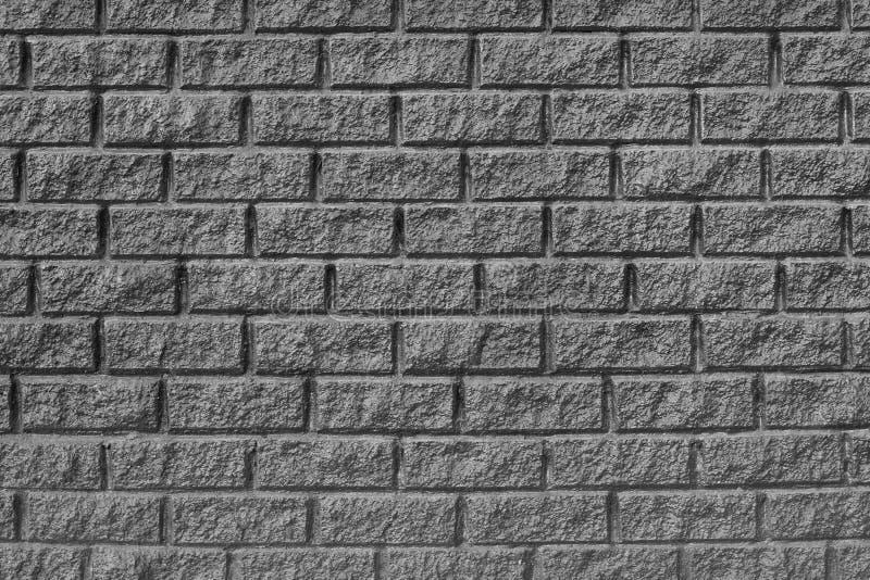 Brickwork tekstura szare ściany obraz stock