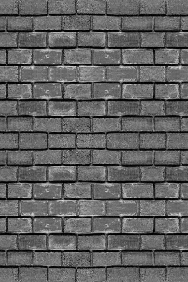 Brickwork vertical pan gray tinted bricks basis of urban stone texture tough weathered fabric pattern royalty free stock images