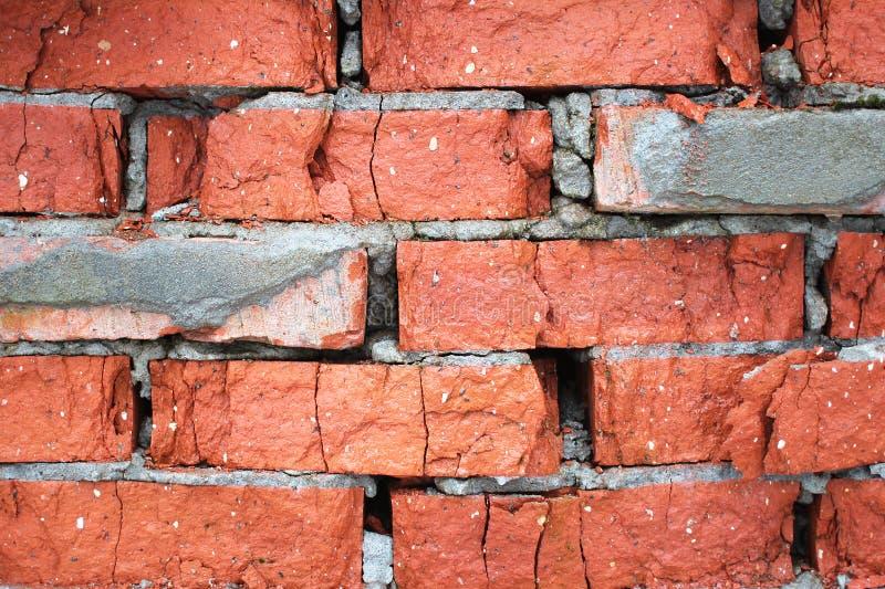 brickwork wietrzał zdjęcia stock