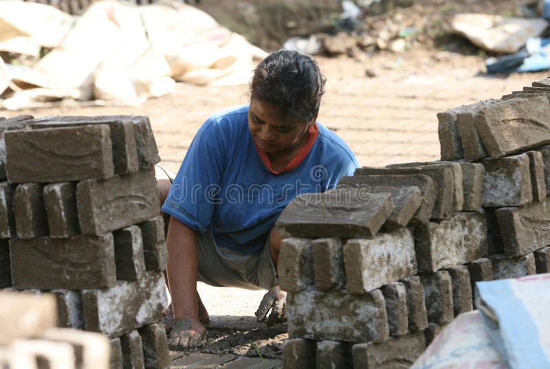 Brickyard imagens de stock royalty free