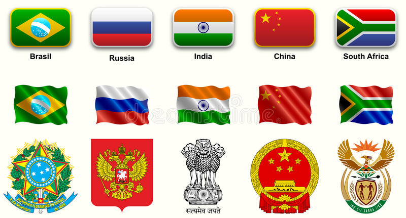 BRICS ελεύθερη απεικόνιση δικαιώματος