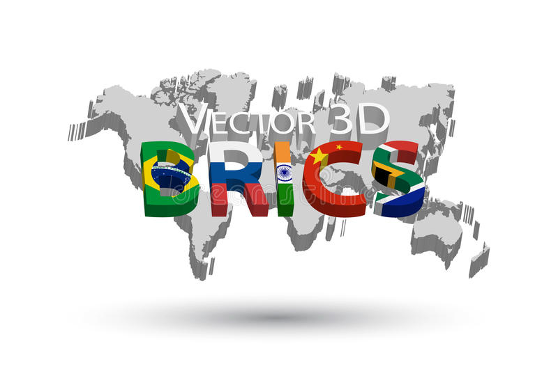 Brics and 3d world map association of 5 countries brazil russia download brics and 3d world map association of 5 countries brazil russia india gumiabroncs Gallery