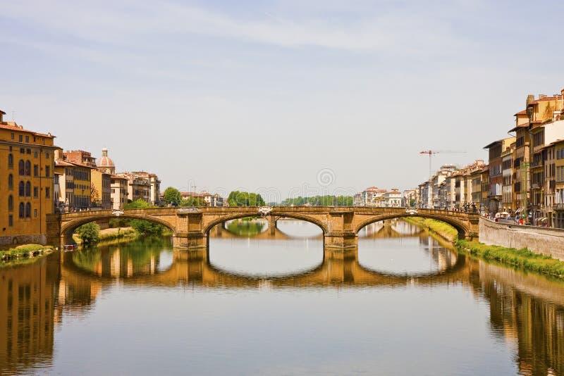 bridżowa Arno rzeka obrazy royalty free