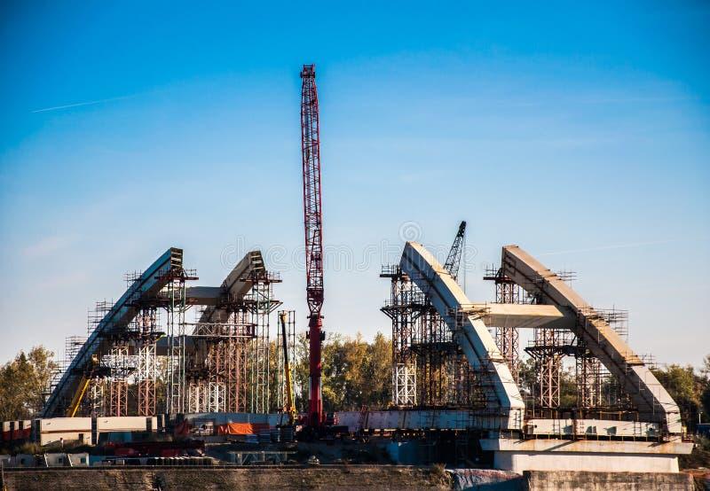 Bridżowa budowa obrazy stock