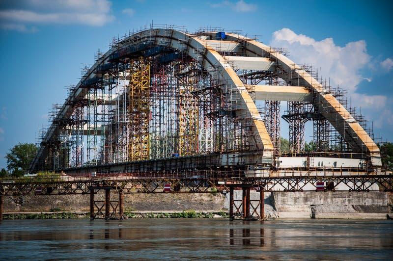 Bridżowa budowa obrazy royalty free