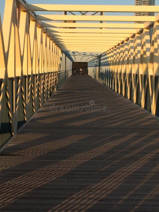 Bridżowa droga przemian zdjęcia stock