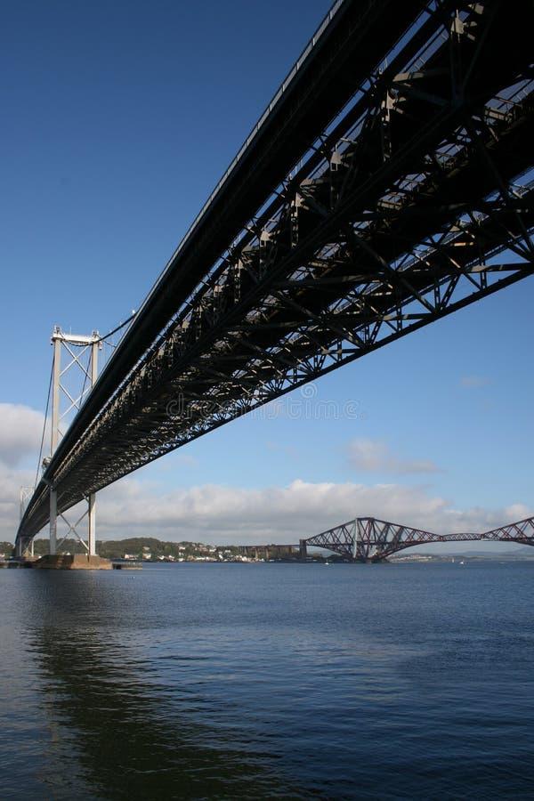 bridżowa Edinburgh naprzód droga zdjęcie royalty free