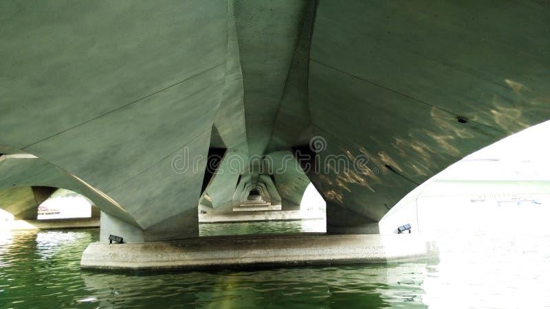 bridżowa esplanada Singapore zdjęcie stock
