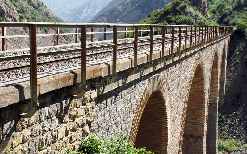 bridżowa linia kolejowa obrazy stock