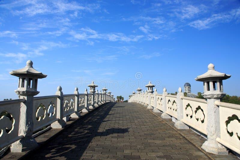 bridżowa wyspa Jeju powulkaniczny fotografia stock