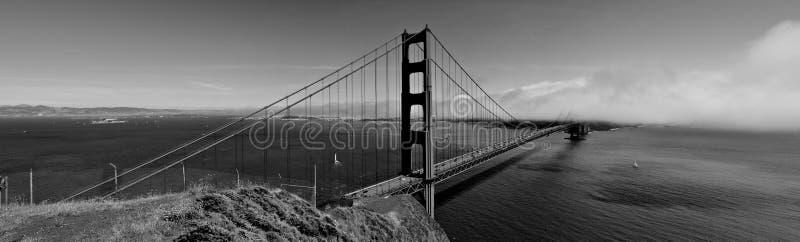 bridżowej bramy złota panorama obrazy stock