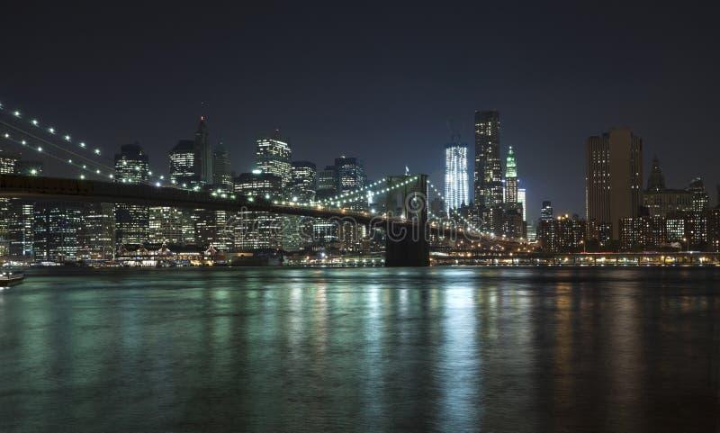 bridżowej Brooklyn miasta wolności nowy wierza w York obrazy royalty free