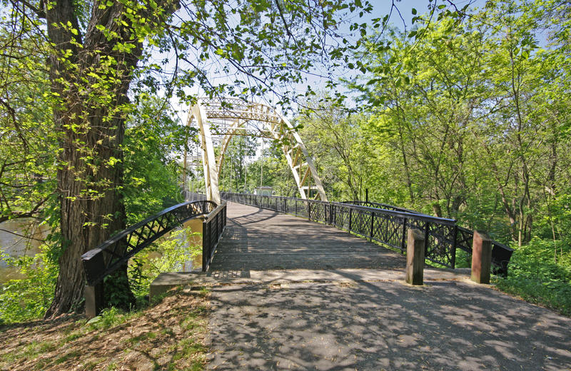 bridżowi dunns Indiana fotografia royalty free