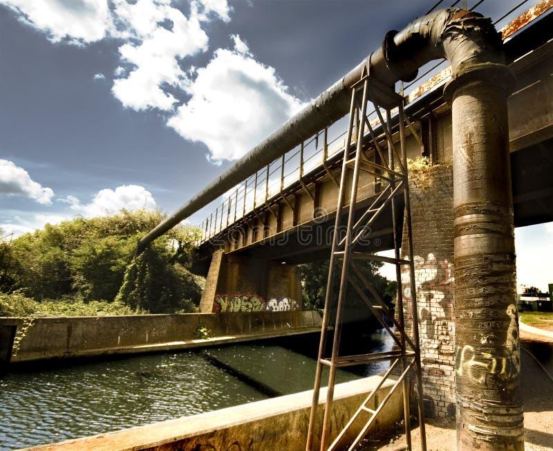 bridżowi graffiti obrazy royalty free