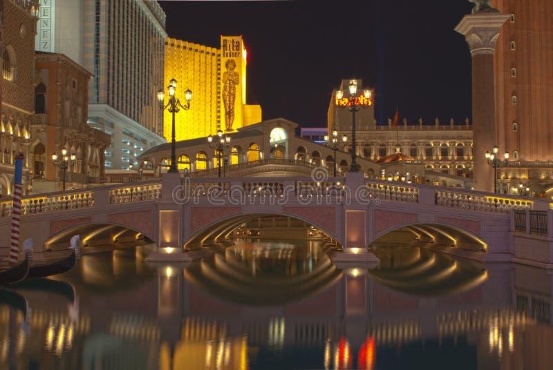 bridżowi las Vegas zdjęcie stock