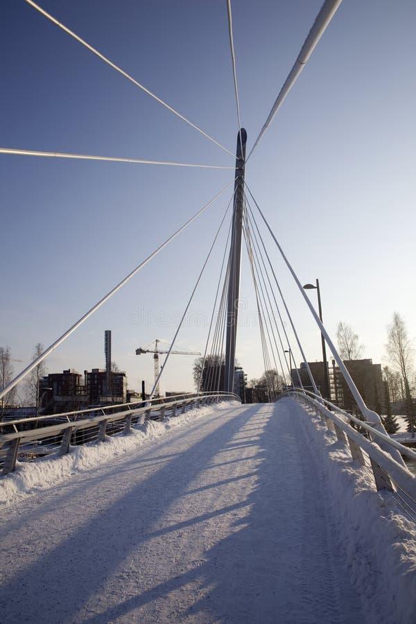 bridżowy śnieżny zdjęcie royalty free