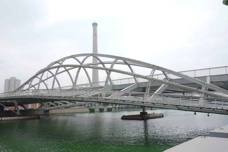 bridżowy żelazny nowożytny fotografia royalty free