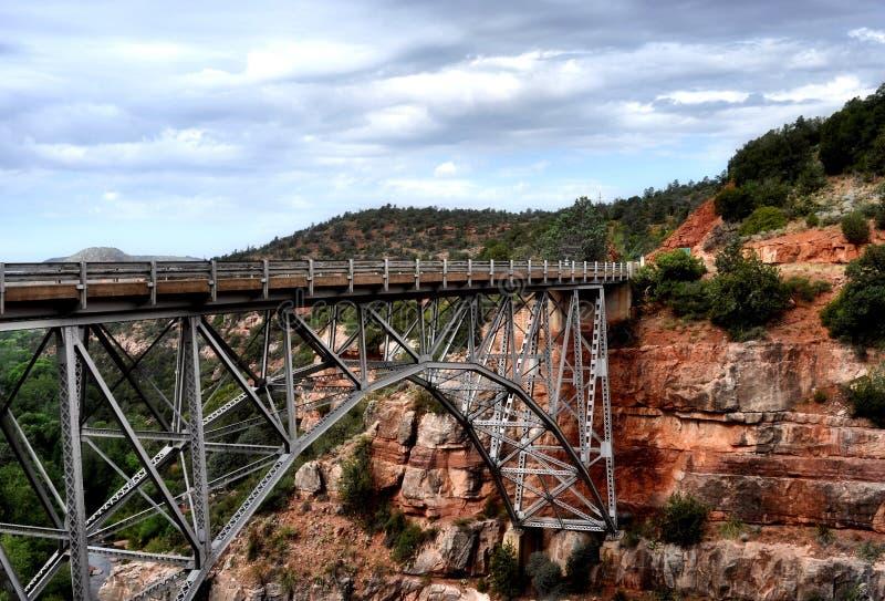 bridżowy Arizona sedona fotografia stock