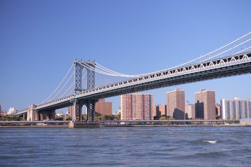 bridżowy Brooklyn nowy York Fotografia strzelał od Brooklyn strony zdjęcie royalty free