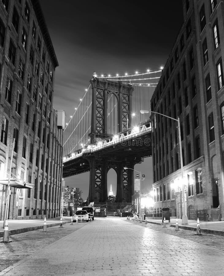 bridżowy Brooklyn nowy York Fotografia strzelał od Brooklyn strony fotografia stock