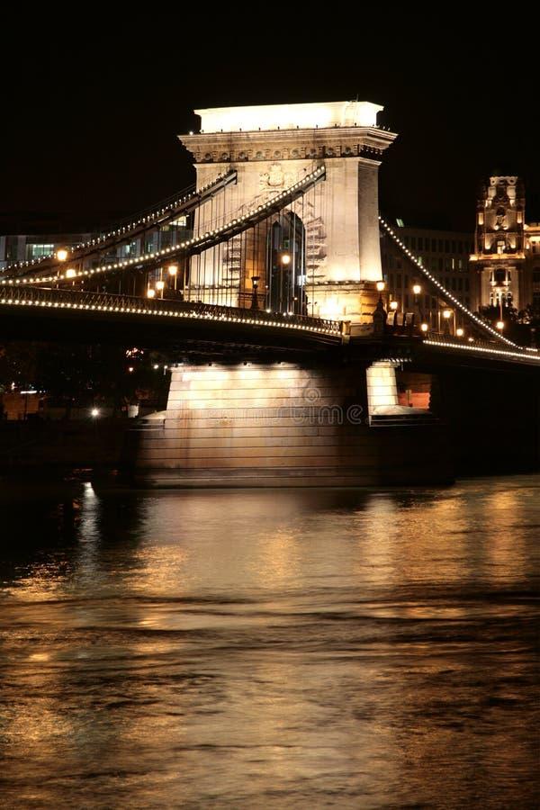 bridżowy Budapest łańcuszkowy s obraz stock