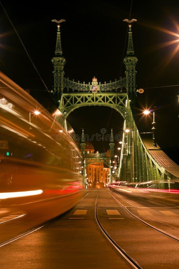 bridżowy Budapest zdjęcie stock