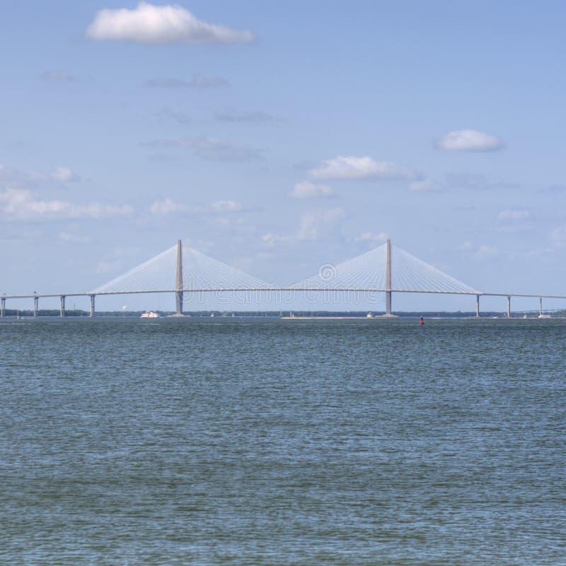 bridżowy Charleston ravenal sc obrazy royalty free