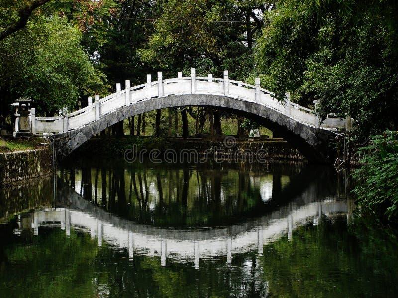 bridżowy chiński odbicie s zdjęcie stock