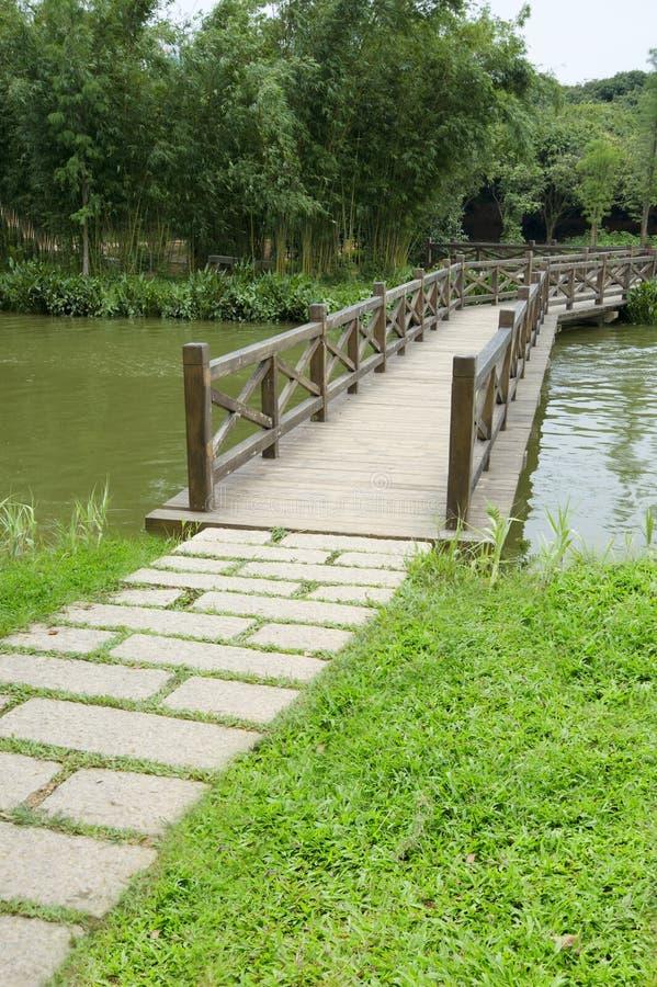bridżowy drewno obrazy stock