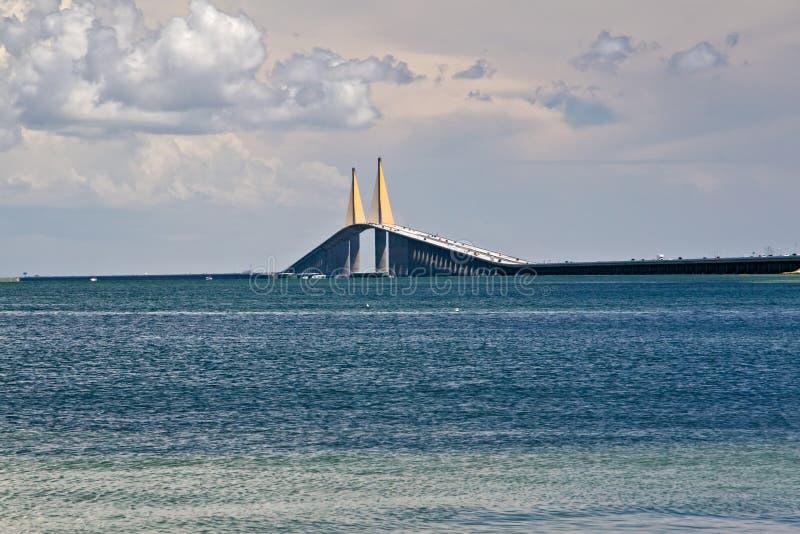 bridżowy Florida skyway Tampa obraz stock