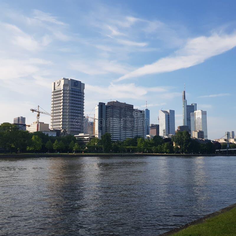 bridżowy Frankfurt zdjęcia royalty free