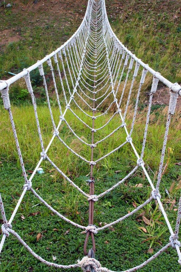 bridżowy linowy biel obraz stock