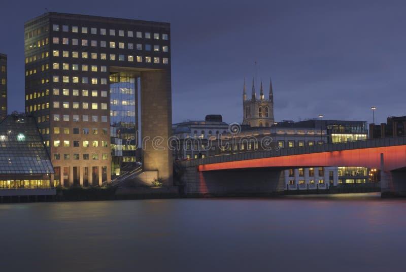 bridżowy London Thames obrazy royalty free