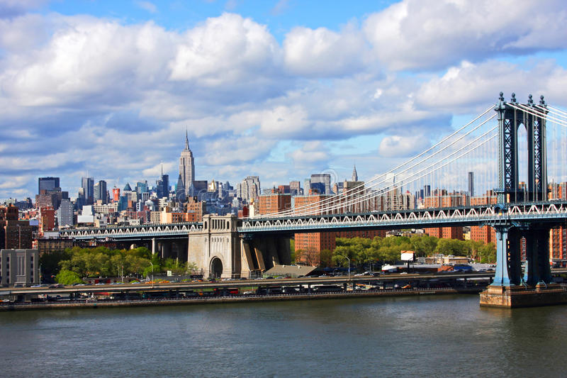 bridżowy Manhattan obraz royalty free