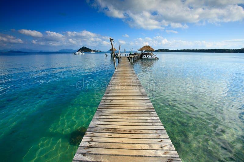 bridżowy morze zdjęcia royalty free